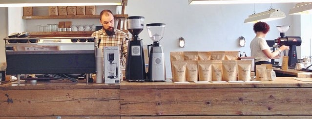 The Barn - Roastery is one of Coffee spots Berlin.