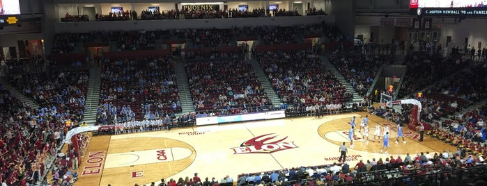 Elon Schar Center is one of NCAA Division I Basketball Arenas/Venues.