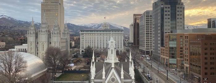 Salt Lake Plaza Hotel is one of สถานที่ที่ Dan ถูกใจ.