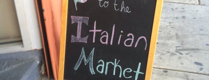 Italian Market is one of Philly.