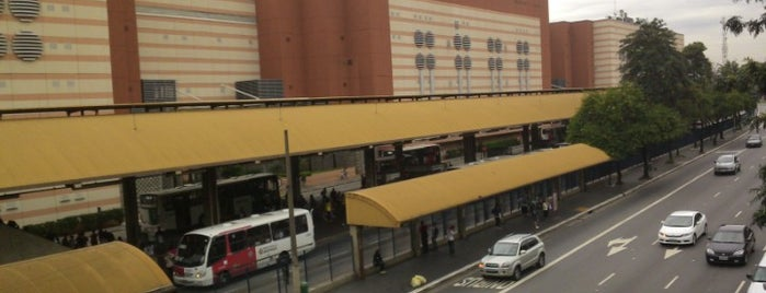 Terminal Tatuapé is one of São Paulo.
