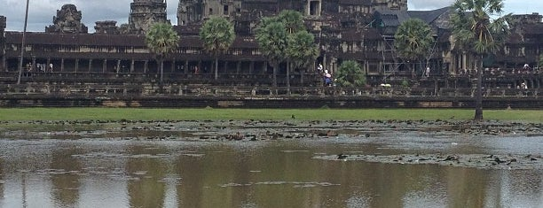 East Gate of Angkor Wat is one of Cambodia.