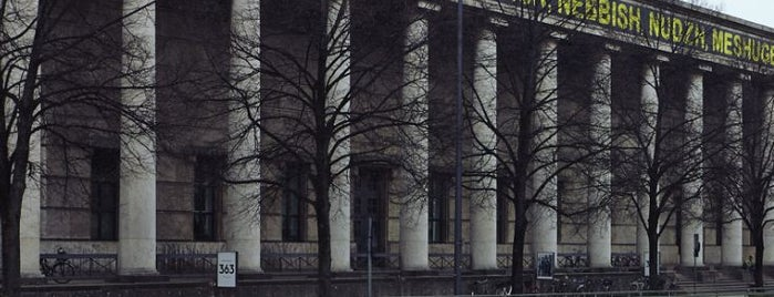 Haus der Kunst is one of Louis Vuitton in Munich.