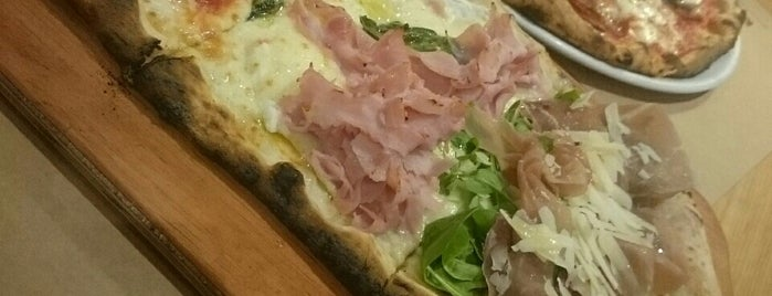 La Pizza (Rossopomodoro) is one of Sampa.