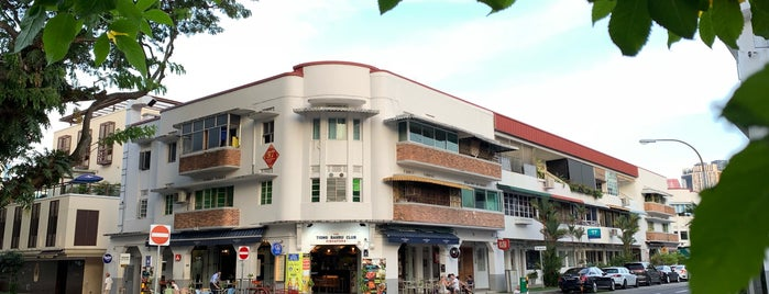 The Tiong Bahru Club is one of Must-do places in SG.