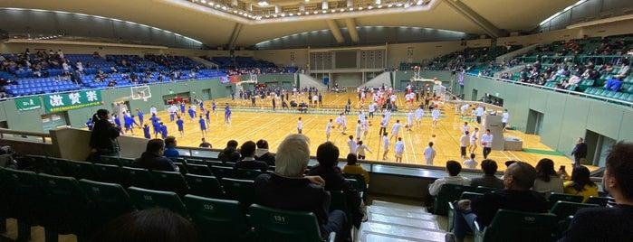 駒沢オリンピック公園総合運動場 体育館 is one of まるめん@下級底辺SOCIO : понравившиеся места.
