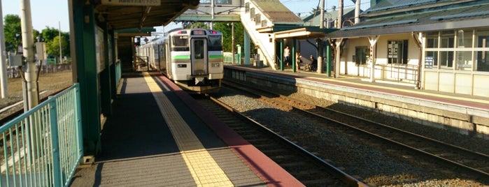Shinoro Station is one of JR 홋카이도역 (JR 北海道地方の駅).