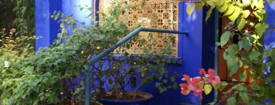 Majorelle Gardens is one of Morocco.