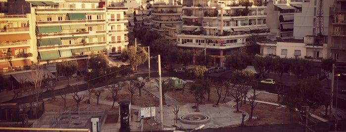 Πλατεία Μάχης Αναλάτου is one of Tempat yang Disukai Theodosia.