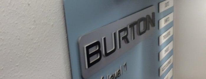 Burton is one of Locais curtidos por Carl.