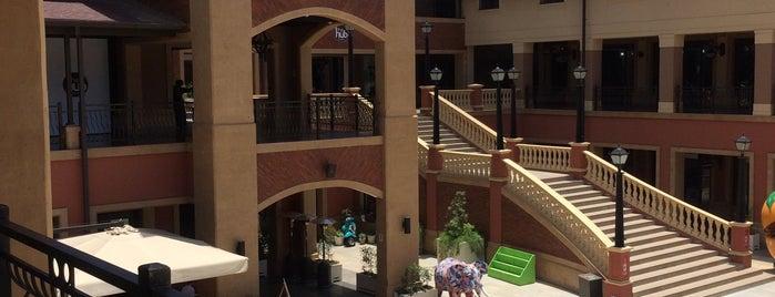 The Hub is one of Nairobi.