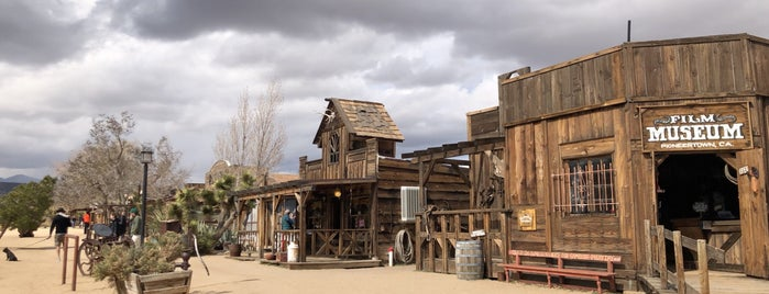 Pioneer Town is one of Joshua Tree.