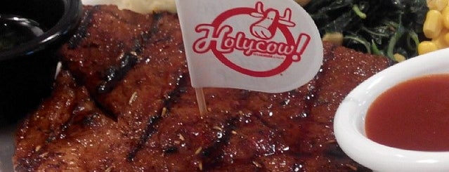Holycow! STEAKHOUSE by Chef Afit is one of Seminyak+.