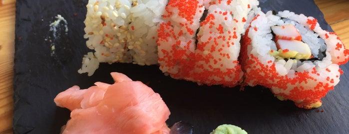 Koi sushi bar is one of Locais curtidos por Dimitris.