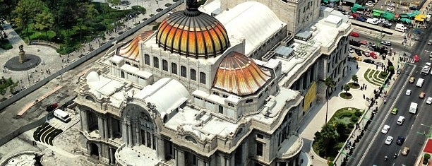 Museo del Palacio de Bellas Artes is one of CDMX.