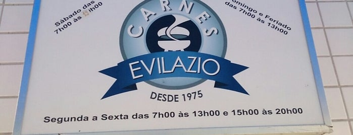 Carnes Evilázio is one of Locais curtidos por Cledson #timbetalab SDV.