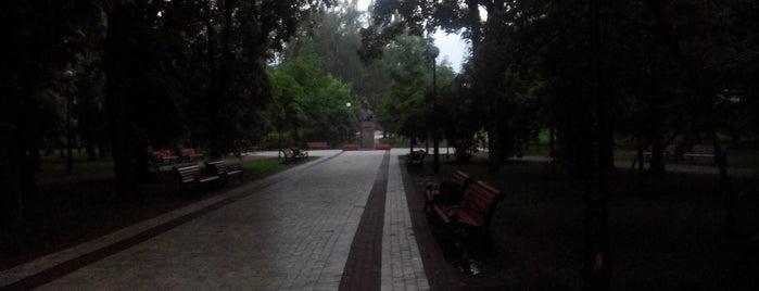 Парк ім. Островського is one of Tempat yang Disukai Александр.