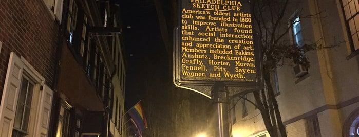 Philadelphia Sketch Club is one of Midtown Village.