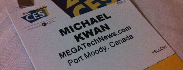 MEGATechNews at CES 2014 is one of Locais salvos de JRA.