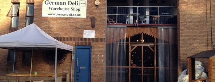 German Deli Warehouse Shop is one of Spring Famous London Story.