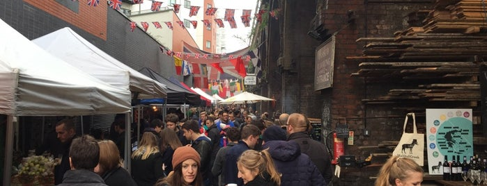 Maltby Street Market is one of Almost Locals em Londres.