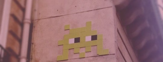 Space Invader - Vieille du temple is one of Space Invaders in Paris.