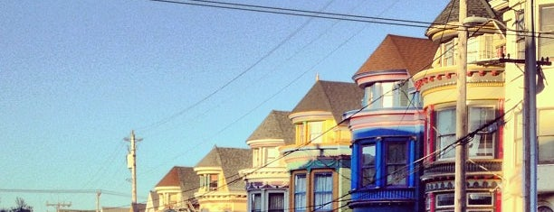 Haight-Ashbury is one of San Francisco.