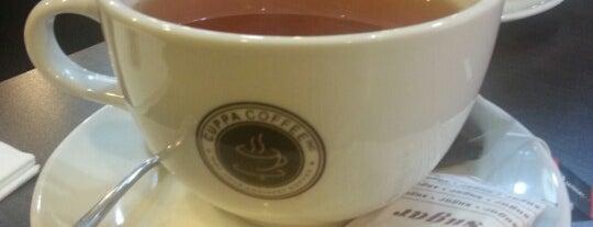 Cuppa Coffee Inc. is one of Orte, die Arie gefallen.