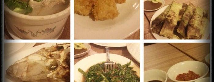 RM Sulawesi is one of Jakarta Eats.