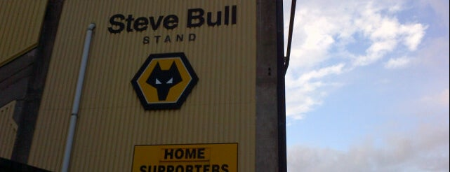 Steve Bull Stand is one of Locais curtidos por Carl.