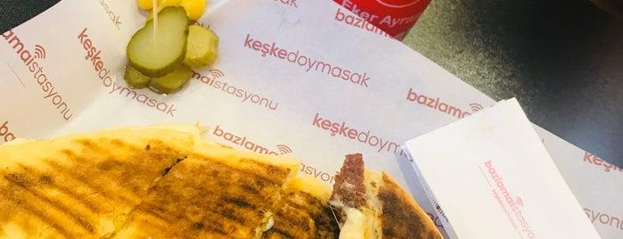Bazlama İstasyonu is one of kahvalti sepeti.