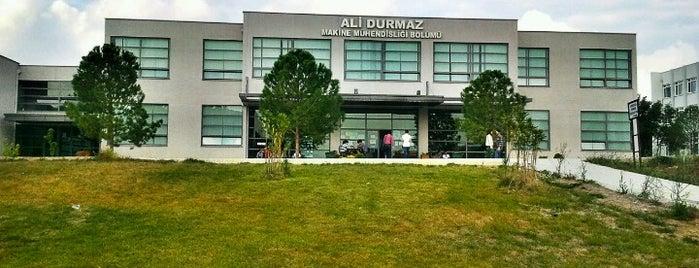 Ali Durmaz Makine Mühendisliği Bölümü is one of 🌸Belly 님이 좋아한 장소.