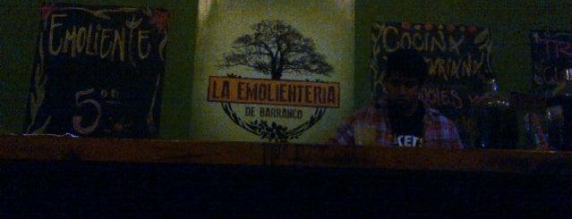 La Emolienteria de Barranco is one of Discotecas y Bares De Lima.