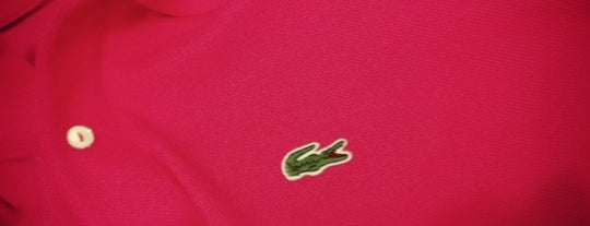 Lacoste is one of Locais curtidos por Tuba.