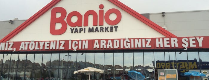 Banio Yapı Market is one of Halil G.さんのお気に入りスポット.