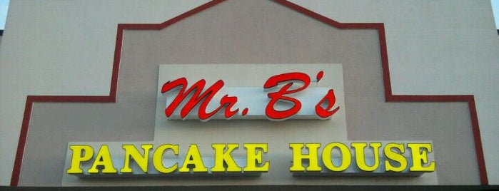 Mr. B's Pancake House is one of Karenさんのお気に入りスポット.