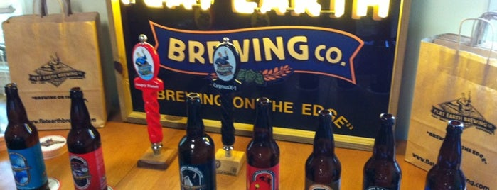 Flat Earth Brewing Company is one of Tap Rooms / Breweries in the Greater MN Area.