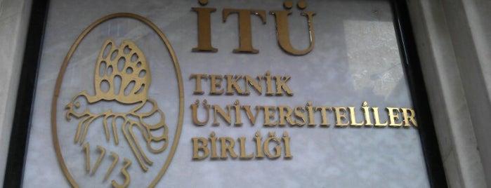 İTÜ İzmir Mezunlar Derneği is one of geldim,gördüm,yedim.