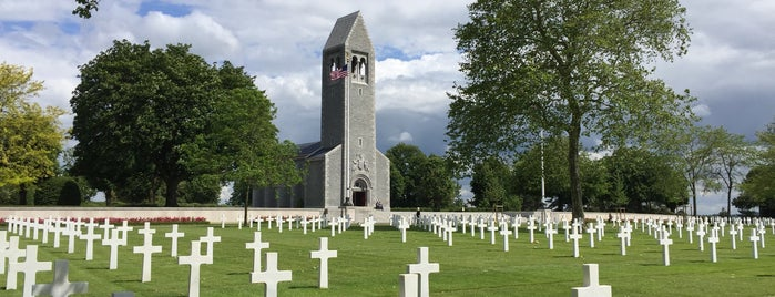 Brittany American Cemetery and Memorial is one of The Price of Freedom Trip.