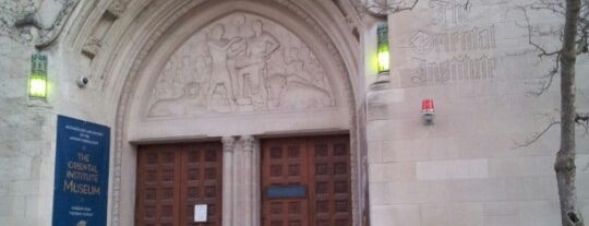 The Oriental Institute is one of Traveling Chicago.