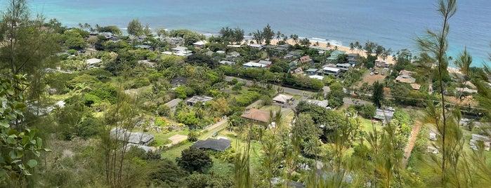 ehu kai pill box is one of Oahu.