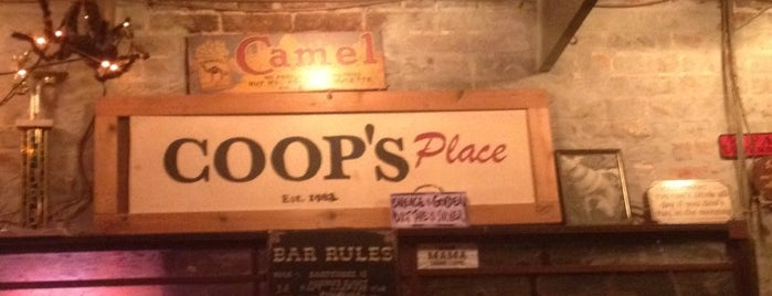 Coop's Place is one of New Orleans, LA.