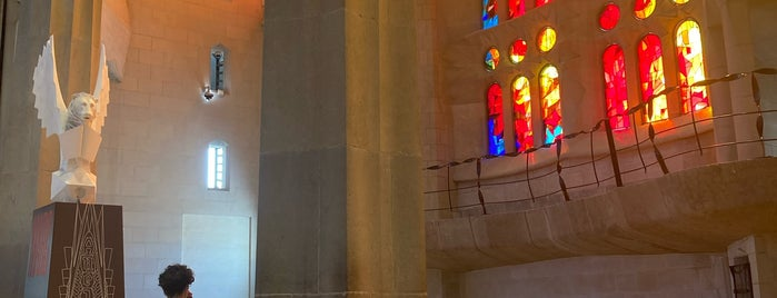 Museu Basilica de la Sagrada Familia is one of barca gezilecek.
