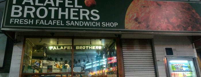Falafel Brothers is one of Tokyo.