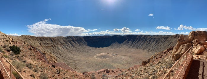 Meteor Crater Visitor Center is one of Route 66.