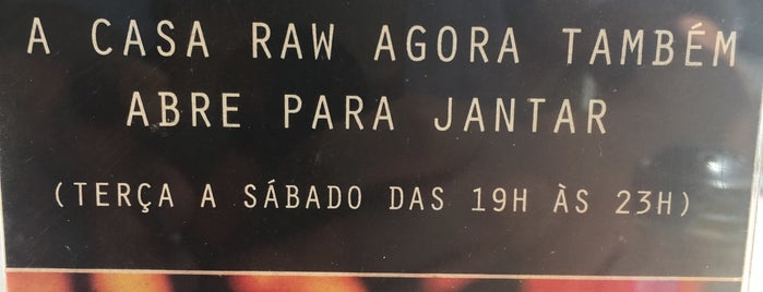 Casa RAW is one of VeganSP.