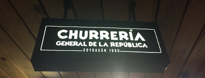 Churreria General De La Republica Cineteca is one of Locais curtidos por Annie.