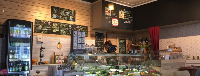 Lemon Feinkost & Cafe is one of Lieux sauvegardés par Jon.