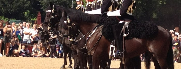 Horse Guards Parade is one of London Tipps.