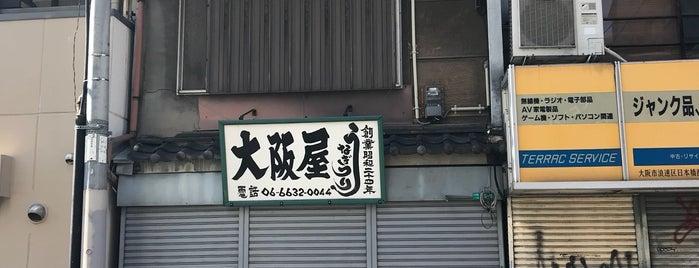 うなぎつり 大阪屋 is one of to do.